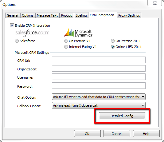 Microsoft Dynamics CRM - Detailed Config