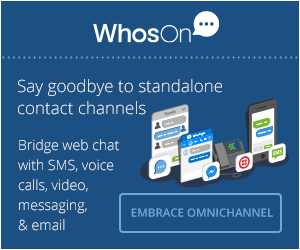 Bridge web chat with SMS, voice calls, video, messaging & email.