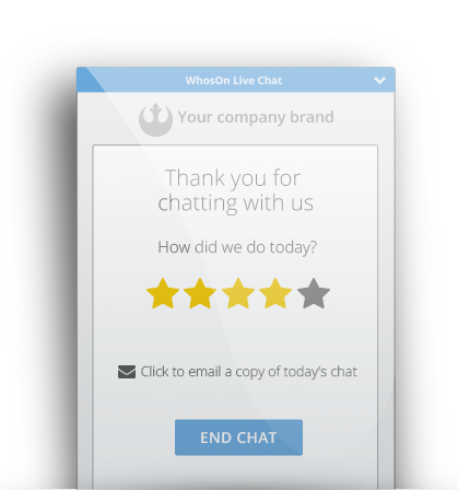 Live Chat - Surveys