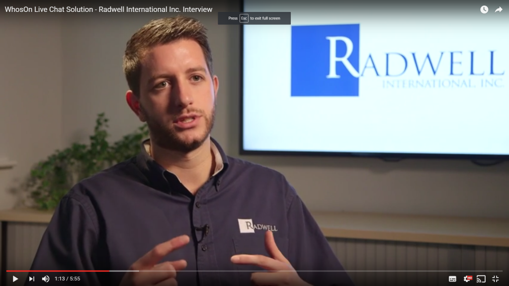 Video case study: Radwell International