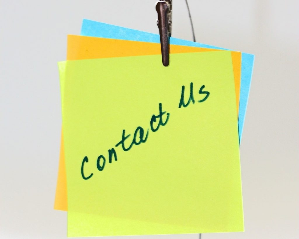 Online engagement: you must do better than 'contact us'
