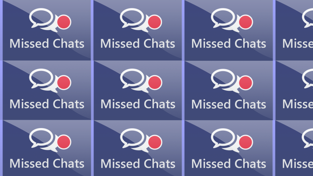 Missed chat handling: a feature dive