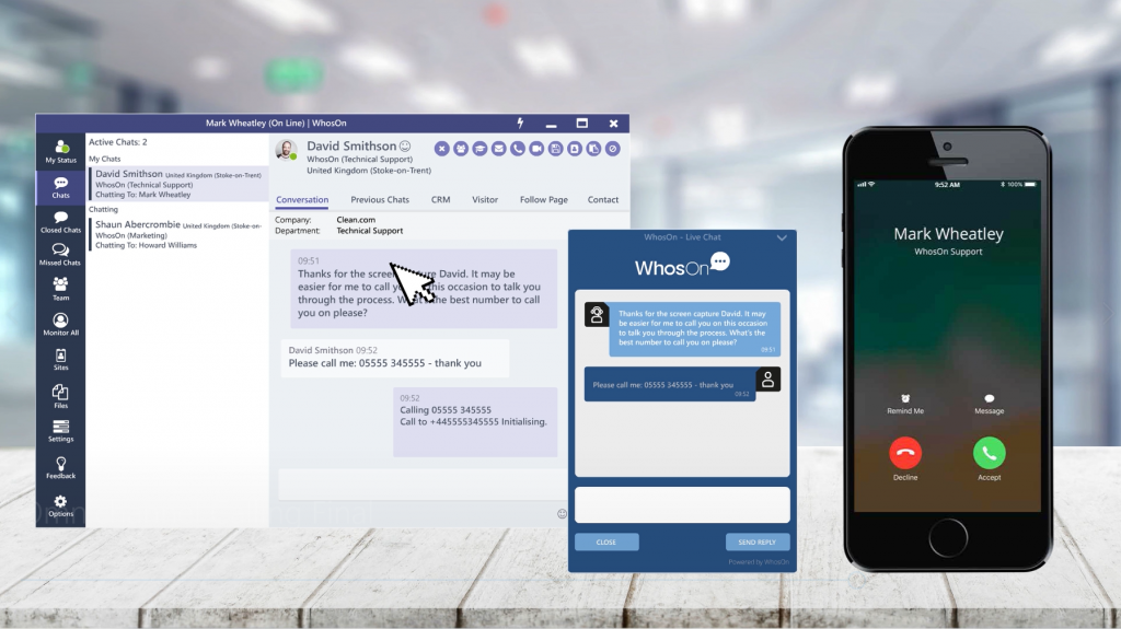 WhosOn feature highlight: omnichannel calling